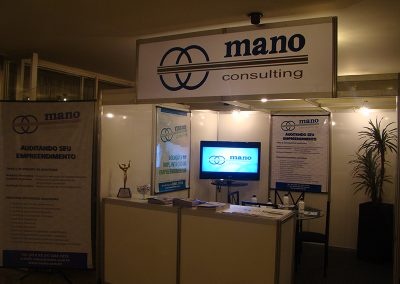 Estande da Mano no CONBRAI (Mano booth at CONBRAI)